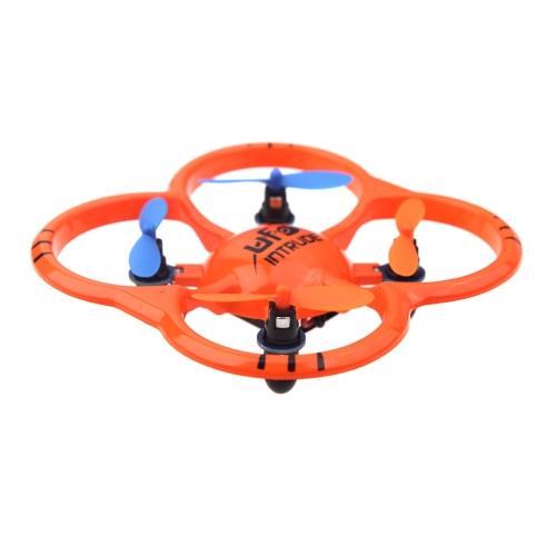 U207 6 Axis Gyro 4CH Radio Controll mini Orange Quadcopter UFO Toys w/ LED Lights (UFO Quadcopter;mini Quadcopter Toys;6 Axis Gyro 4CH Radio Control Toys)