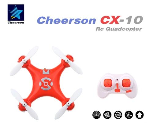 Orange CX-10 Mini 2.4G 4CH 6 Achse LED RC Quadcopter   Spielzeug Helicoptert (CX-10 Quadcopter;Mini 2.4G   Quadcopter;RC Spielzeug)