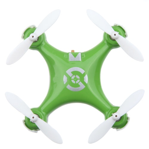 Pomarańczowy CX-10 Mini 2.4G Czterokołowiec 4-osiowy 6 Axis Czujnik światła LED Quadcopter Toy Helikopter z oświetleniem LED (CX-10 Quadcopter, Mini Quadroop 2.4G, Zabawka RC)