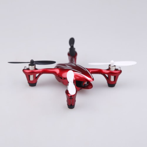 100% Original Hubsan X4 H107C 2.4G 4CH RC RTF Helicopter Quadcopter W/ 0.3MP Camera Red & Silvery