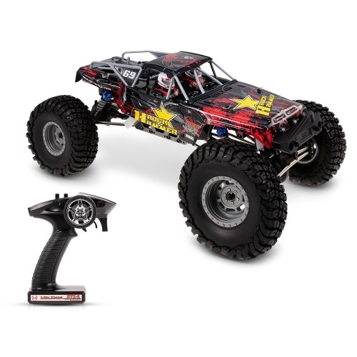RGT 18000 1/10 2.4GHz 4WD Waterproof Racing RC Car Off-road Rock Crawler RTC RC Toy