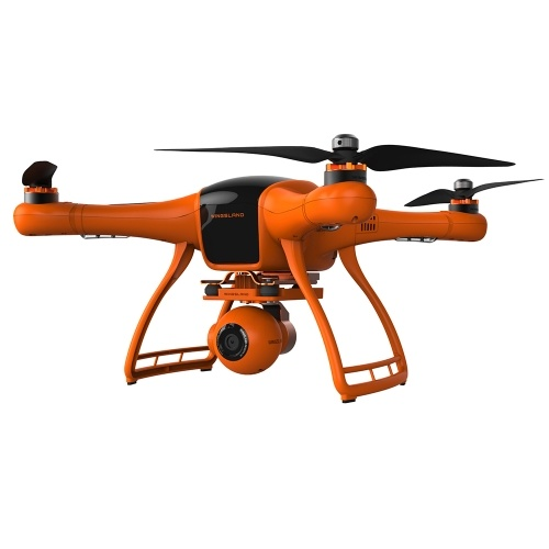 Wingsland Minivet M1 Brushless GPS Drone with Camera 5.8G FPV 12MP 3 Axis Gimbal 4.3 Inch LCD Screen Quadcopter