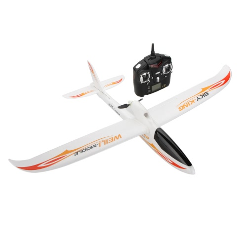 Wltoys F959 SKY-King 2.4G 3CH Radio Control RC Airplane Aircraft RTF Green/Red