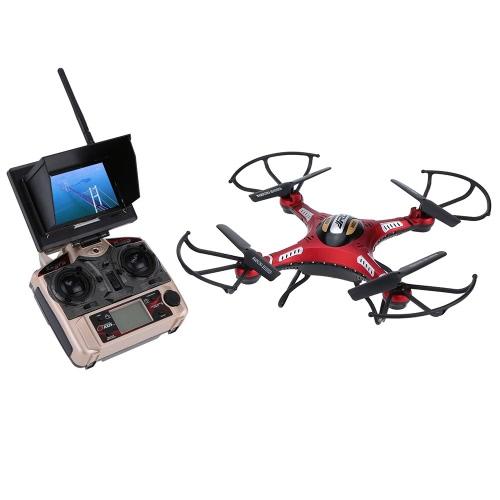 l JJRC H8D 5.8G FPV RTF RC Quadcopter Headless Mode/One Key Return Drone with 2.0MP Camera FPV Monitor LCD