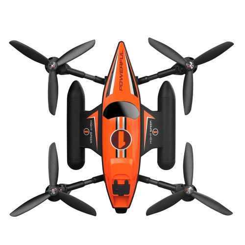 WLtoys Q353 Triphibien 2.4G 6 axes Gyro Air-Ground-Water RC Quadcopter Sans tête RTF Drone