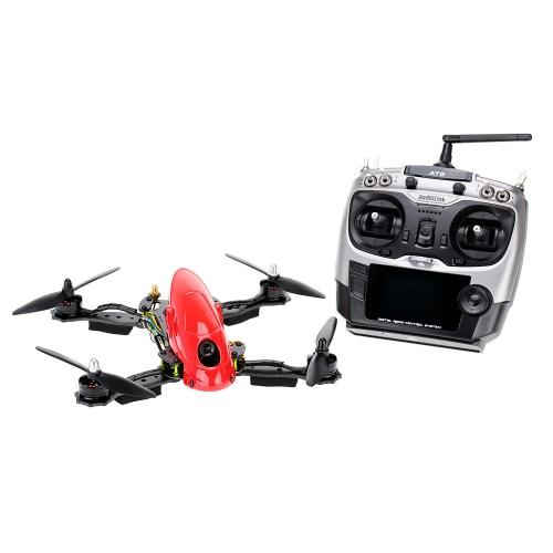 Original Lieber F280 5.8GhZ RTF FPV Конкурс Drone Quadcopter БПЛА с оригинальным радиолинком AT9 DSSS 9CH Transmitter 700TVL Объектив камеры