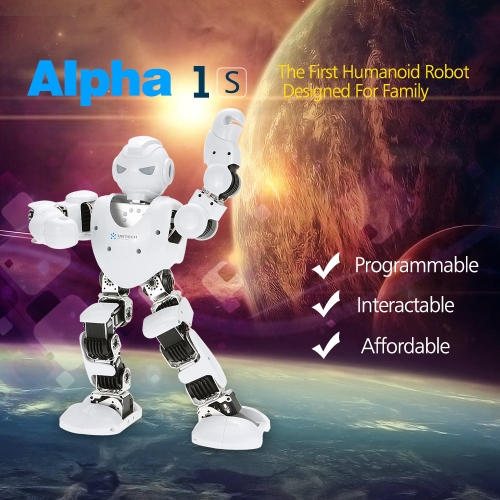 Original UBTECH Alpha 1S 16DOF Intelligent Programmable Humaniod Robot with 3D Visual PC Software and Bluetooth Control Function
