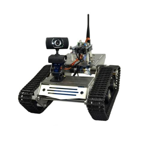 Smart Wifi DIY Crawler RC Robot Tank с поддержкой 1,3-мегапиксельной HD-камеры Поддержка контроля мобильного телефона ПК