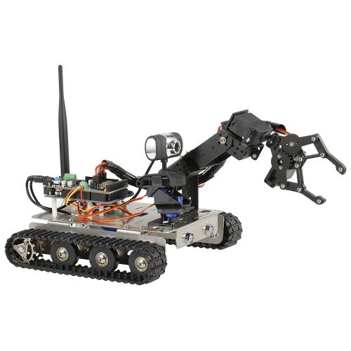 GFSロボットWifiスマートDIYクローラーRCロボットタンク