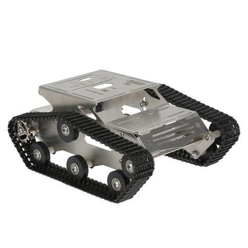 THRobotEx Wifi Smart DIY Crawler RC Robot Tank с поддержкой Manipulator 1.3MP Поддержка HD-камеры Мониторинг управления мобильным телефоном ПК