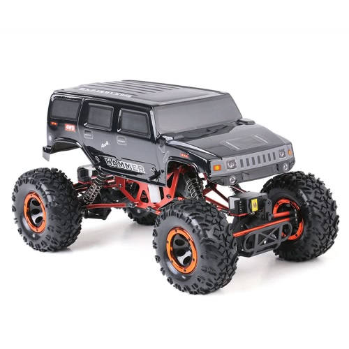 Original HSP 94180T2 1/10 2.4Ghz 3CH 4WD Elektronische Powered Brushed Motor RTR Rock Crawler RC Auto mit zwei Servo
