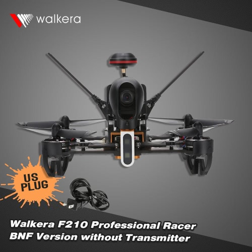 Original Walkera F210 Professional Racer 700TVL Camera 5.8G FPV BNF RC Quadcopter without Transmitter Digital Signal Wire and Manual CD
