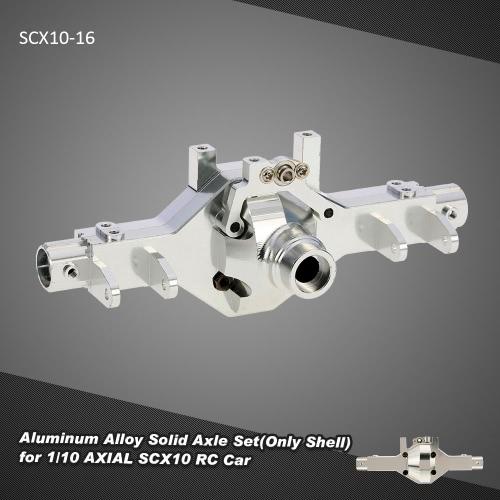 1/10 AXIAL SCX10 RCカー用SCX10-16アルミ合金ソリッドアクスルセット(シェルのみ)