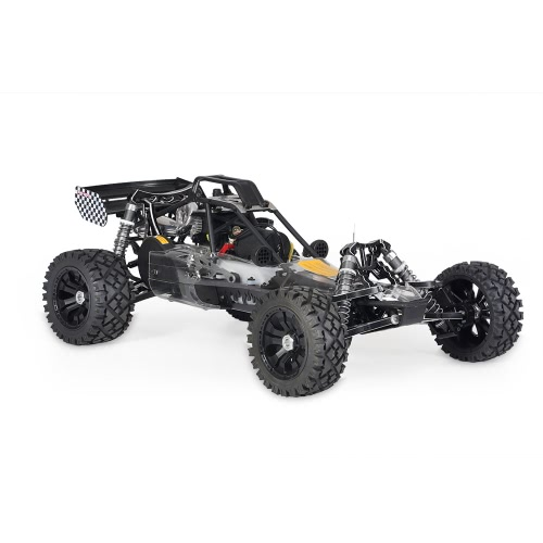 KM-T002 1/5 Baja 26 CC RC Nitro Powered Off-road Racing Car con Transmisor MT-3D de 3 Canales 2.4G