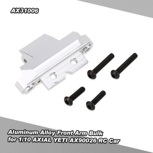 1/10 AXIAL YETI AX90026 RCカー用AX31006アルミ合金フロントアームバルク
