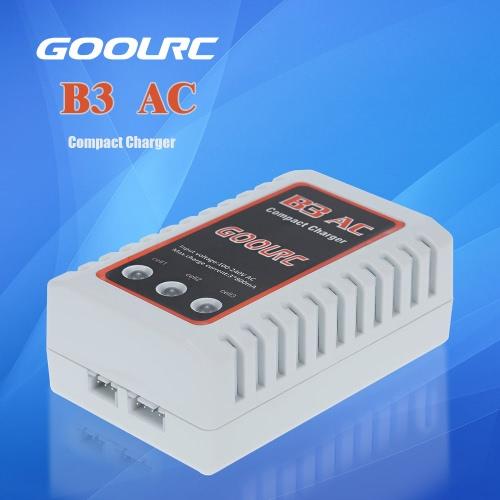 RCクワッドローターRCカーリポバッテリーのためのオリジナルGoolRC B3 AC 2S 3Sコンパクト充電器