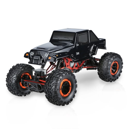 Original HSP 94180T2 1/10 2.4Ghz 2CH 4WD Electronic Powered Brushed Motor RTR Rock Crawler RC Car with One Servo