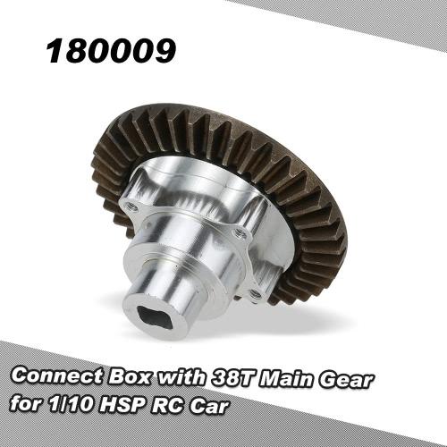 1/10 HSP 94180オフロードクローラーRCカー用38Tメインギアと180009コネクトボックス