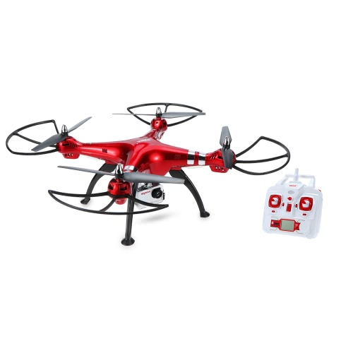 Original Syma X8HG 8.0MP Câmera HD RC Quadcopter com Barómetro Set Height e Headless Mode