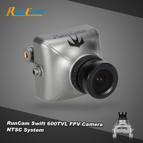 Original RunCam Swift 600TVL Caméra FPV NTSC 2.8mm Objectif et support de base IR bloqué pour QAV250 180 210 RC Quadcopter