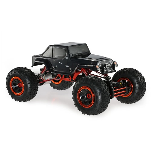 Original HSP 94880T2 1/8 2.4Ghz 3CH 4WD Elektronische Powered Brushed Motor RTR Rock Crawler RC Auto mit zwei Servo