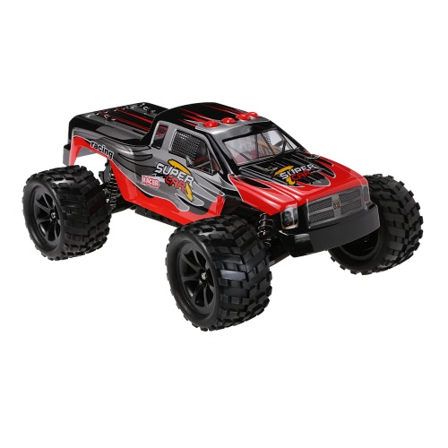 WLtoys L969 2.4G 1:12 Scala 2WD 2CH Spazzolato Electric RTR Bigfoot RC Monster Truck