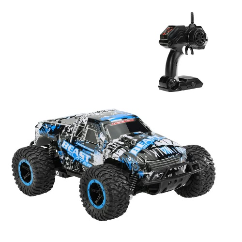 Original YOU JIE TOYS UJ99-2611B 1/18 2.4G 2CH 2WD Electric Slayer Speed Racing Bigfoot Buggy Radio Control Car