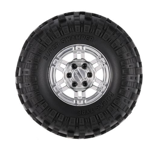 4Pcs AUSTAR AX-4020A 1.9 Zoll 110mm 1/10 Rock Crawler Reifen mit Alloy Beadlock Felge für D90 SCX10 AXAIL RC4WD TF2 RC Auto