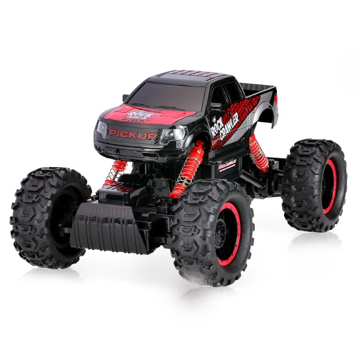 HB-P1401 2.4G 1:14 Scale 2CH 4WD Electric RTR Rock Crawler Off-road RC Car with LED Light