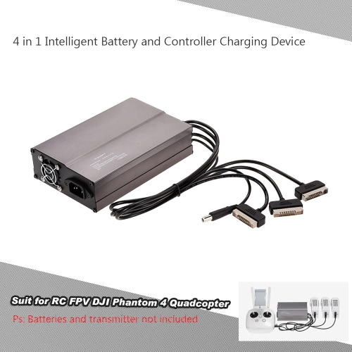 4 in 1 intelligente della batteria e controller di carica Dispositivo per RC FPV DJI Phantom 4 Quadcopter