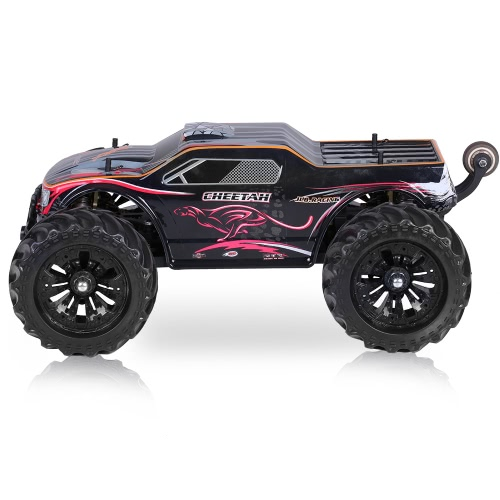 JLB Racing 11101 1/10 2.4G 4WD Elektrisch Brushless 90km / h Hochgeschwindigkeits-Offroad-Monster Truck RTR RC Car