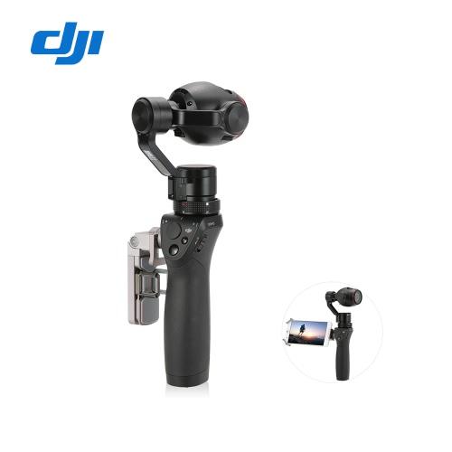 オリジナルDJI OSMO +ハンドヘルド4K 12MPカメラ3軸ジンバルズームカメラ