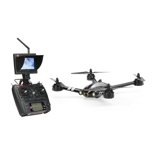 Original XK X252 FPV Transmissão em tempo real 2.4G 7CH 5.8G 3D 6G Modo Racing Drone Com 720P Câmera HD grande angular de 140 ° Sem pincel RTF RC Quadcopter