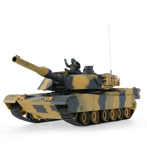 Originale Heng Long 3816 1/24 USA M1A2 Abrams Softair Battaglia Panzer RC serbatoio con funzione di programmazione