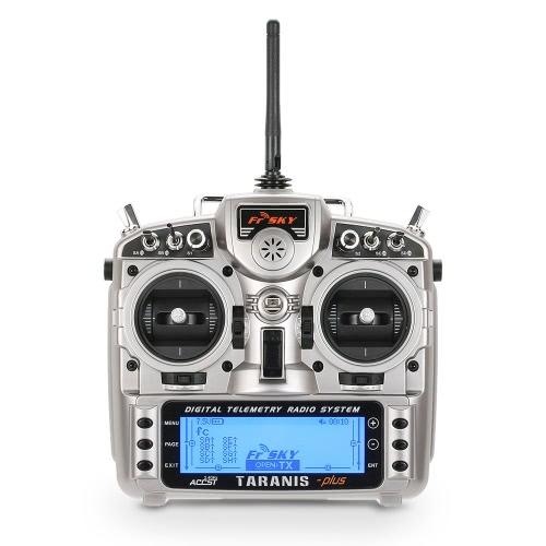 FrSky Taranis X9D Plus Transmetteur de radio de télémétrie 2.4G ACCST 16CH Open TX Mode 2 pour RC Quadcopter Helicopter Airplane