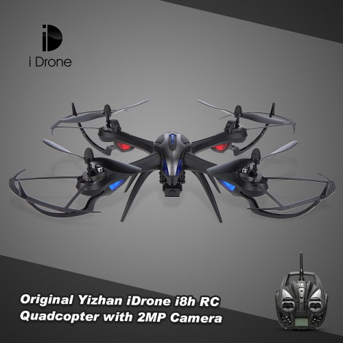 Yizhan iDrone i8h 2.4G 4CH 6-axis Gyro 2MP Camera Drone Altitude Hold RC Quadcopter RTF