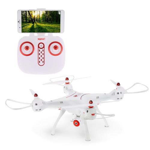 Original Syma X8SW Wifi FPV 720P HD Camera Drone 2.4G 4CH 6-Axis RC Quadcopter com Barómetro Set Height RTF
