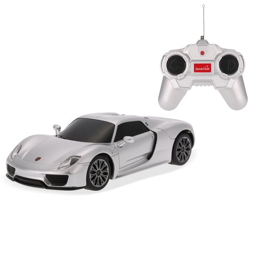 Oryginalny RAstar 71400 27MHz 1:24 Porsche 918 Spyder RC Super Sports Car Simulation Model RTR