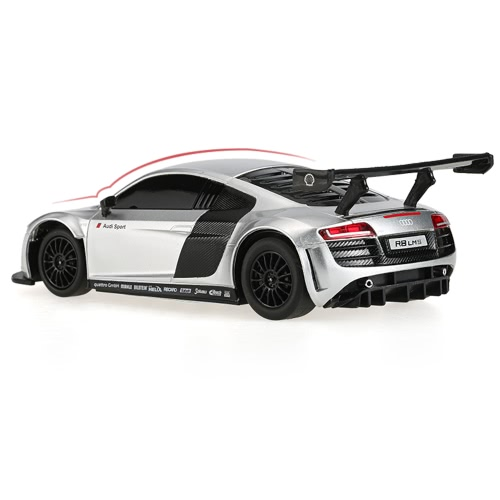 RASTAR 46800 27MHz 1/24 AUDI R8 LMS RC Super Sports Car Simulation Model RTR