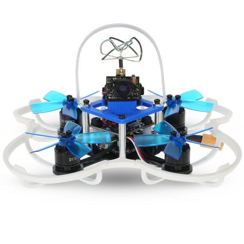 GoolRC G85 85mm 5.8G 40CH 600TVL Micro FPV Racing Drone 1106 Brushless Motor RC Quadcopter with RadioLink Receiver F3 Flight Contr от Tomtop.com INT