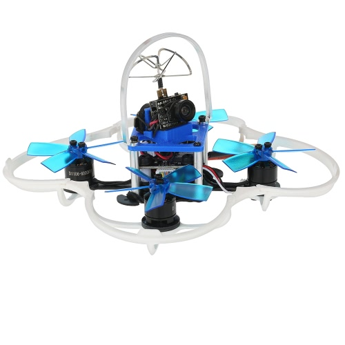 GoolRC G85 85mm 5.8G 40CH 600TVL Micro FPV Racing Drone 1106 Brushless Motor RC Quadcopter with Flysky Receiver F3 Flight Controll от Tomtop.com INT