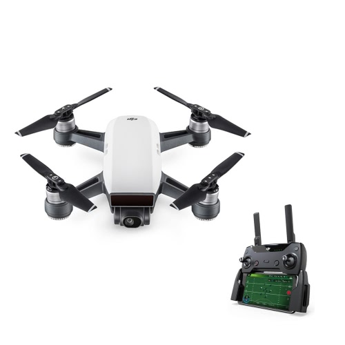 Original DJI Spark 12MP 1080P FPV Quadcopter Fly More Combo Aerial Photography Selfie Pocket Drone with Remote Controller