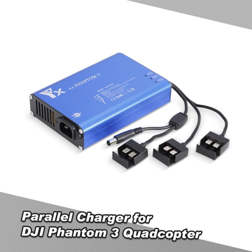 4 in 1 Parallel Power Hub Intelligent Battery Charger for DJI Phantom 3 Standard Professional Advanced SE FPV Drone Quadcopter