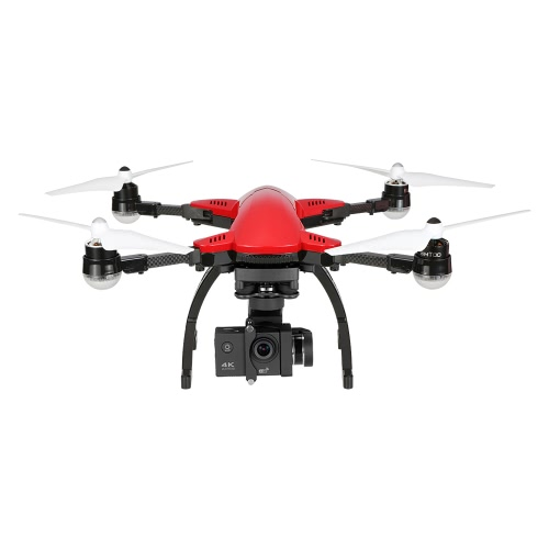 SIMTOO Dragonfly Pro Caméra 16MP 4K sans balai Wifi FPV Quadcopter 3 axes Gimbal Photographie aérienne professionnelle GPS Drone RTF