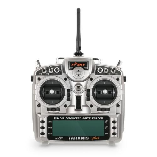 Original FrSky Taranis X9D Plus Transmisor de radio de telemetría de 2,4 G ACCST 16 canales Modo TX abierto 2 y receptor X8R