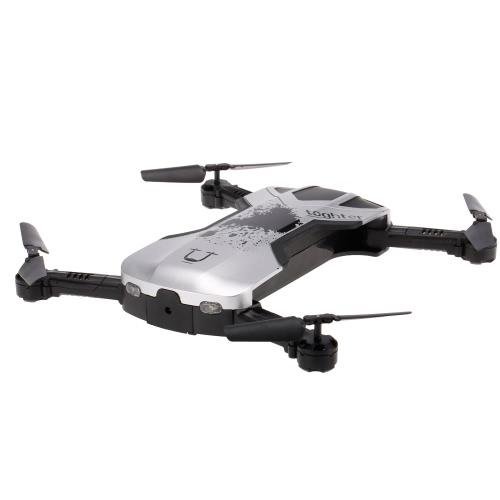 Original Utoghter 69506 WIFI pliable FPV RC Quadcopter avec 0.3 M Altitude de caméra Drone Black
