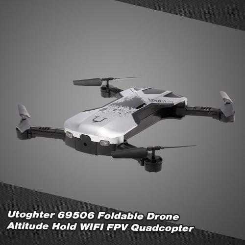 Utoghter 69506 Mini Foldable WIFI FPV RC Quadcopter Image