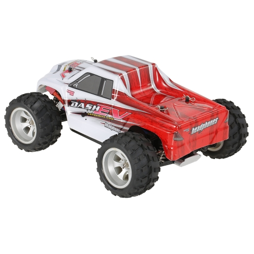 WLtoys A979-B 2.4G 1/18 Skala 4WD 70KM / h High Speed ​​Electric RTR Monster Truck RC Car