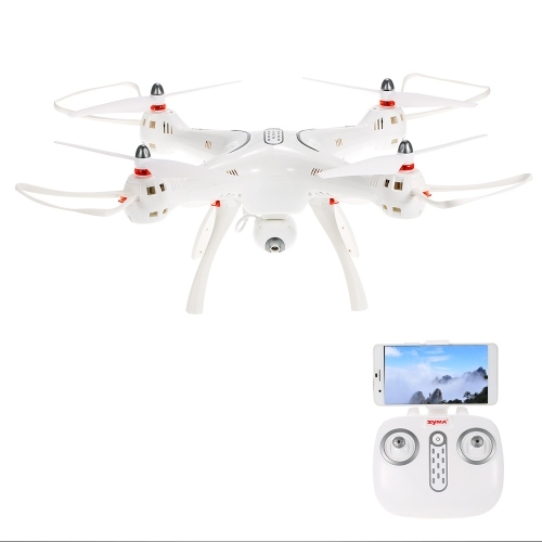 Original Syma X8PRO 720P Câmera Wifi FPV Drone Altitude Hold One Key Return Posicionamento GPS RC Quadcopter RTF
