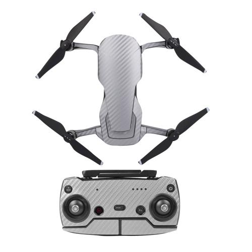 Adesivo protettivo Cover pelle Adesivo impermeabile Modello in fibra di carbonio per DJI Mavic AIR RC Drone e telecomando